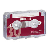 COS Philips Mini Dictate Cassette 30min