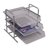 COS Italplast Document Tray A4 3 Tier Mesh