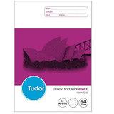 COS Tudor%20Student%20Notebook%2010mm%20Grid%20%2064%20Pg%20Purple