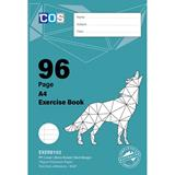 COS Spirax Exercise Book A4 8mm S/R 96 Pg