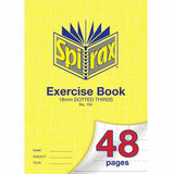 COS Spirax Exercise Book A4 18mm DT 48 Pg