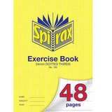 COS Spirax Exercise Book A4 24mm DT 48 Pg