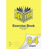 COS Spirax Exercise Book A4 8mm S/R 64 Pg