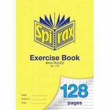 COS Spirax Exercise Book A4 8mm S/R 128 Pg