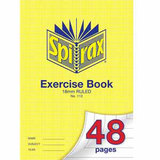 Spirax Exercise Book A4 18mm S/R 48 Pg