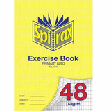 COS Spirax Exercise Book 114 A4 Grid 48 Pg