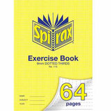 COS Spirax Exercise Book A4 9mm DT 64 Pg