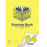 COS Spirax Exercise Book A4 18mm DT 64 Pg