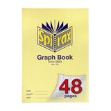 COS Spirax Graph Book A4 5mm Grid 48Pg