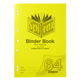 COS Spirax PP Binder Book P120 A4 8mm 64 Pg