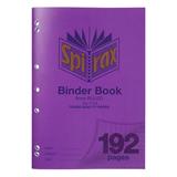 Spirax PP Binder Book P128 A4 8mm 192 Pg