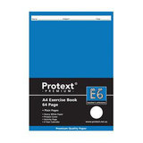 COS Protex Exercise Book A4 Unruled 64 Pg