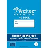 EXER9273 Writer Exercise Book A4 24mm DT 64 Pg