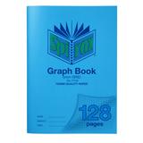 COS Spirax P135 A4 Graph Book 5mm 128 Pg