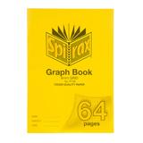 COS Spirax P136 Graph Book A4 8mm 64 Pg