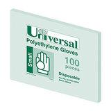 COS Universal Poly Powder Free Glove Small