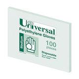COS Universal Poly Powder Free Glove Medium