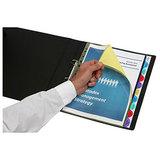 INDX3086 Marbig PP Viewtab Dividers 10 Tab X-Wide