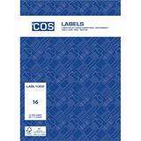 COS Multi-Use Labels L7162GU 16 / Sheet