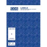 COS Multi-Use Labels L7167GU 1 / Sheet
