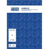 COS Multi-Use Labels L7169GU 4 / Sheet