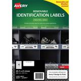 COS Avery Laser Labels L4778REV 48 /Sheet