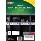 COS Avery Laser Labels L4773REV  24 /Sheet