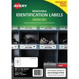 COS Avery Laser Labels L4776REV 12 /Sheet