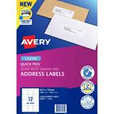 COS Avery Laser Labels L7164 12 / Sheet