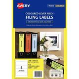 COS Avery Laser Labels L7171B 4 / Sheet L/A