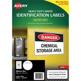 COS Avery Laser Labels 24/Sheet Hduty Round