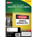 COS Avery Laser Labels L7063 14/ Sheet Hduty