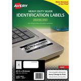COS Avery Laser Labels L6011 27/ Sheet HD