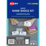 COS Avery Laser Inkjet Name Badge L7418 Kit