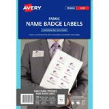 COS Avery Laser Name Badge L7418 8Up