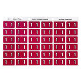 COS Avery Lateral Filing Labels Numeric *1*