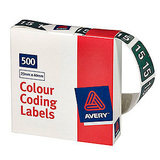LABL93125 Avery Lateral Filing Labels Year *15*