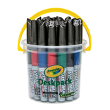 MARK3993 Visi-Max Whiteboard Marker Deskpack