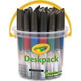 MARK8096 Crayola Marker Dry Erase Deskpack 24
