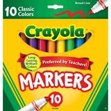 MARK8099 Crayola Classic Broadline Markers