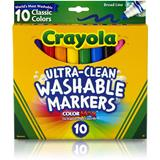 MARK8100 Crayola Ultra Clean Classic Markers