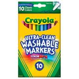 MARK8101 Crayola Ultraclean Fineline Markers