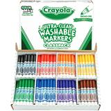 MARK8102 Crayola Ultra Clean Markers Classpack