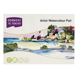 COS Derwent Watercolour Pad A3 L/scape 12Sht