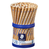 COS Staedtler Natural Jumbo Tri 2B Pencil