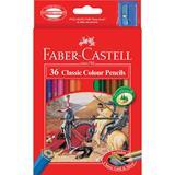 PENC4130 Faber-Castell Classic Hex Colour Pencils