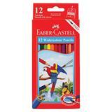 PENC4386 Faber-Castell Watercolour Hex Pencils