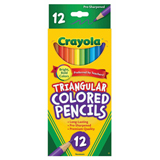PENC4400 Crayola Full Size Triangular Pencil