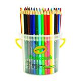 PENC4403 Crayola Coloured Deskpack Pencil