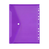 POCK6024 Marbig Binder Pocket with Button A4